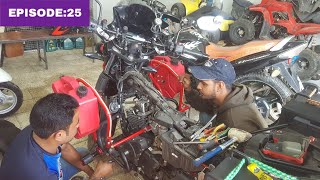 World Ride|EP:25| Tappit adjusted after 8000km /പണി ആയോ 😁..