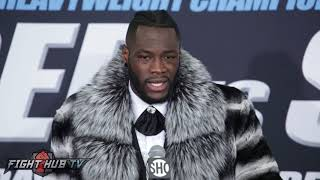 Deontay Wilder says he will make Anthony Joshua QUIT!