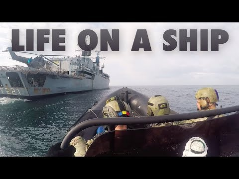 Life on a ship - welcome on board Romanian Navy frigate Regele Ferdinand