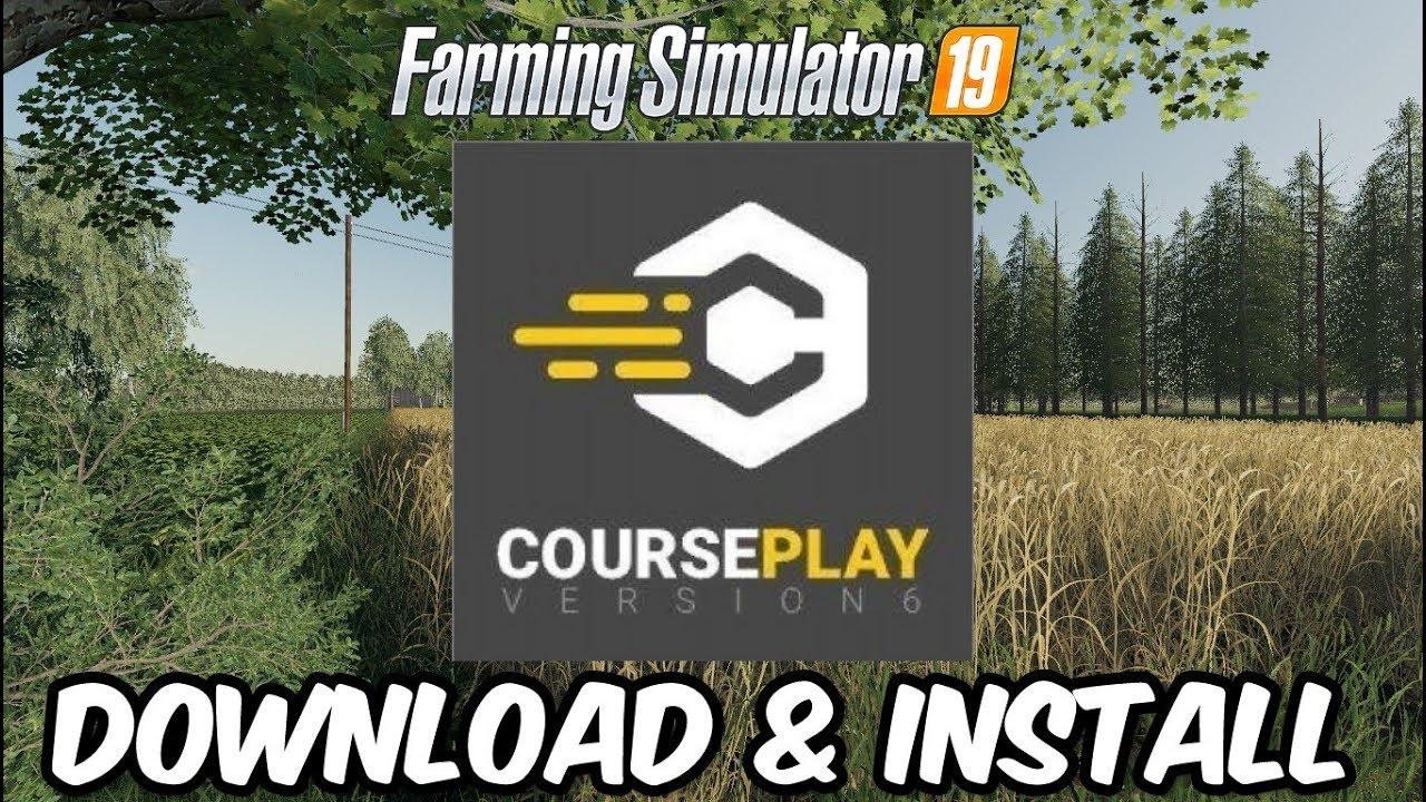 CoursePlay Beta v6 00 00033 FS19 - Farming Simulator 19 Mod