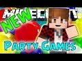 Minecraft: NEW PARTY GAMES! (Mini-Game Challenges)