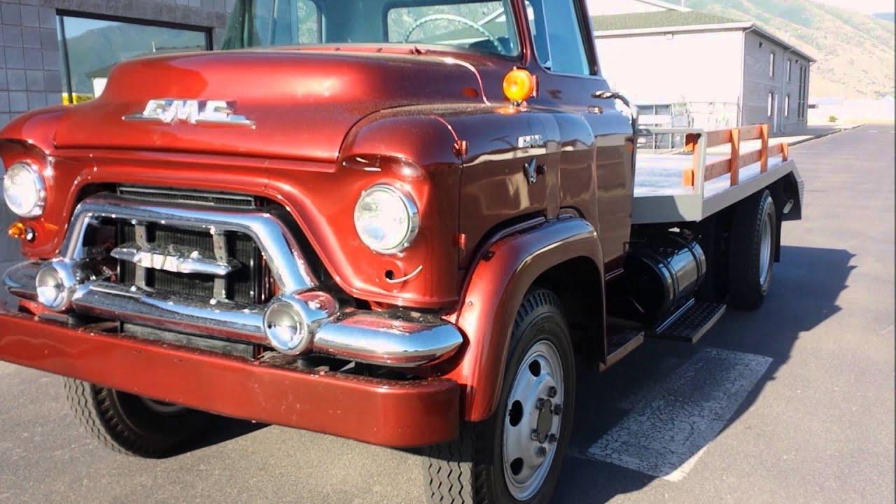 1957 GMC heavy duty truck - YouTube
