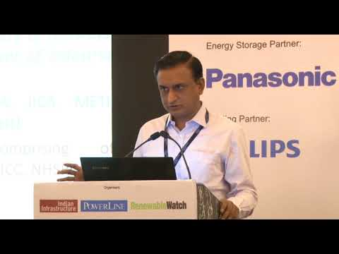 """P. Mishra, General Manager, NHSRC, at India Infrastructure's """"Energy Needs of Indian Railways"""" Event"""