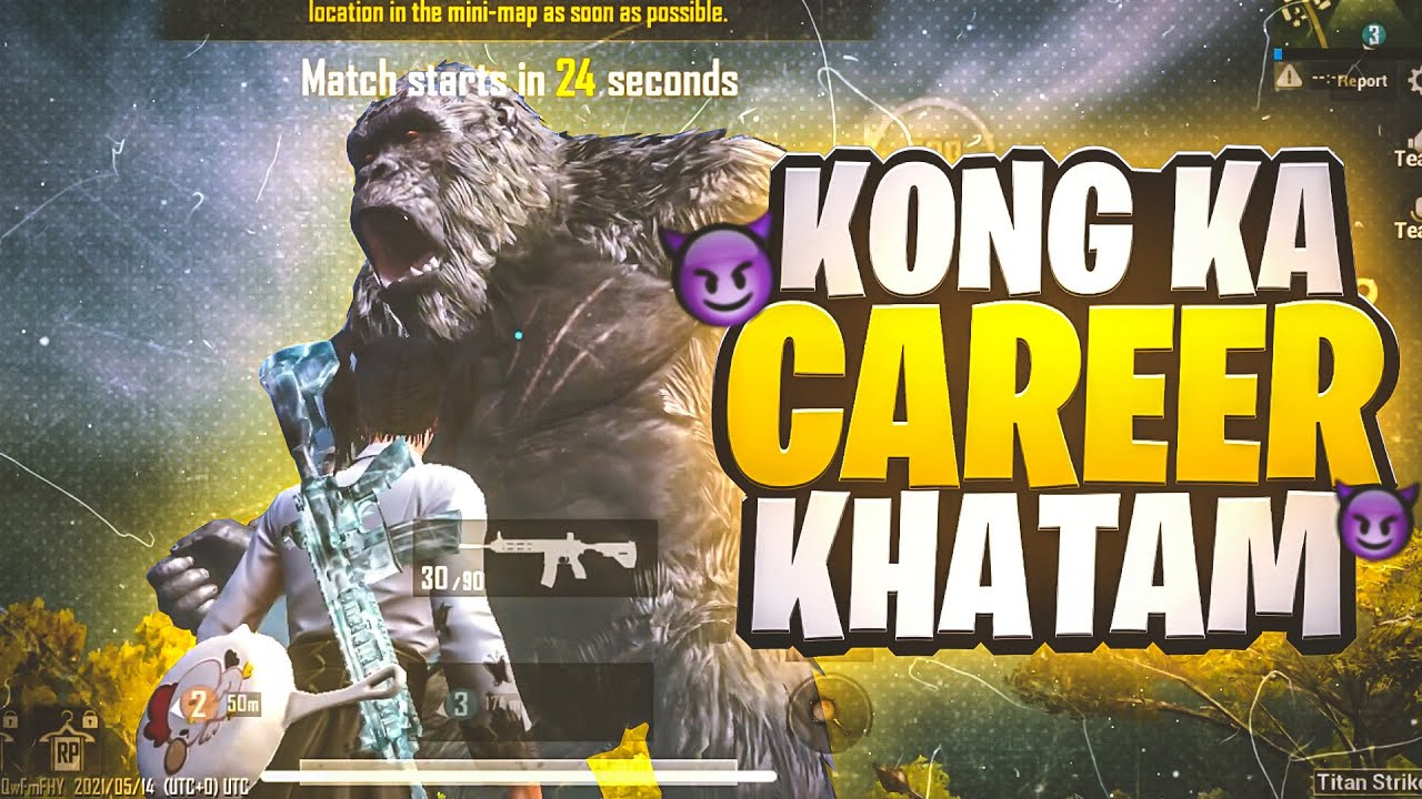 Kong Ka Career Khatam   Pubg Mobile Funny Highlights   Lost Boy