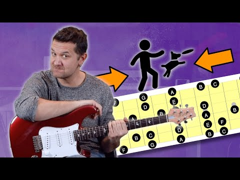 Memorize The Full Guitar Fretboard in Seconds!
