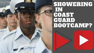 SHOWERING IN COAST GUARD BOOTCAMP CAPE MAY VLOG 031