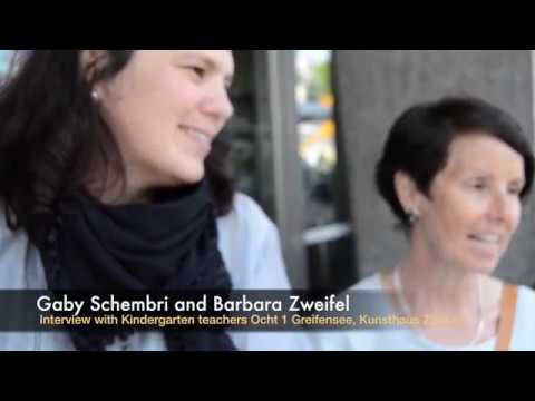 Interactive play: Interview of Kindergarten teachers Greifensee Zürich