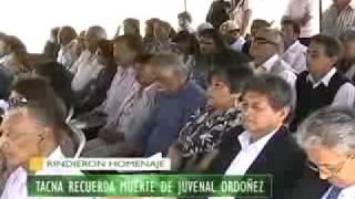 A DOS AÑOS DE SU MUERTE, RINDEN HOMENAJE A JUVENAL ORDOÑEZ