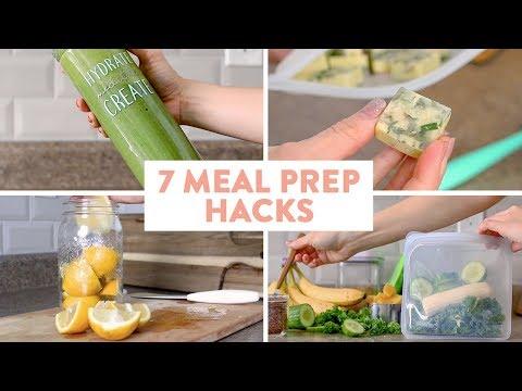 7 MUST KNOW Meal Prep Hacks!