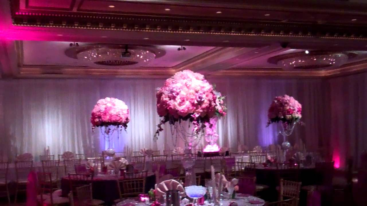steve and britney engagement hall decorations - YouTube for Decoration Ideas For Party Hall  588gtk