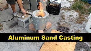 SAND CASTING: ALUMINUM DISC - MSFN