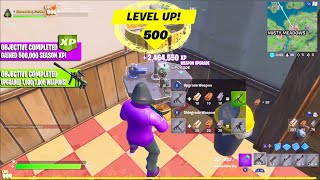 THIS IS THE *NEW* EASIEST LEVELING METHOD! (UPGRADING UNLIMITED WEAPONS!) / Fortnite Battle Royale!