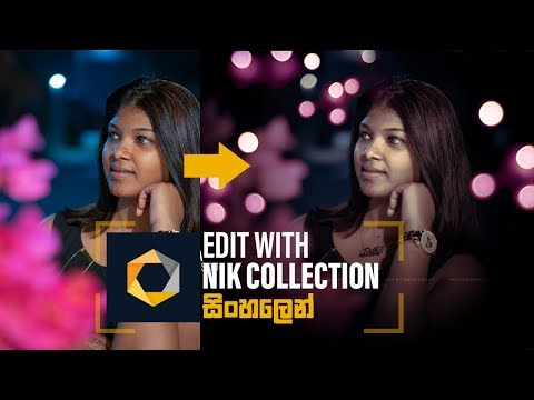 How To Edit Image With Nik Collection In Photoshop Sinhala