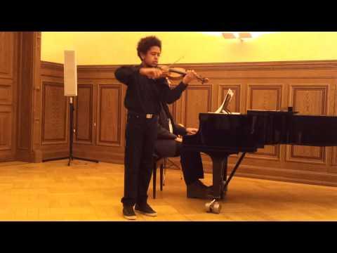 Akim Camara : Fritz Kreisler - Präludium und Allegro