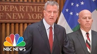NYC Mayor Tells Citizens to 'Be Vigilant' After Manhattan Explosion | NBC News