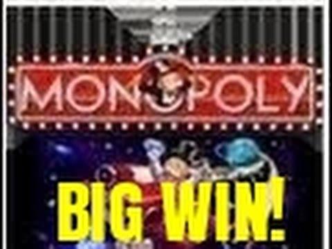 monopoly slot machine big win