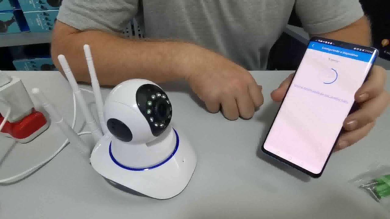 Como Instalar e Configurar Câmera de Segurança Ip 3