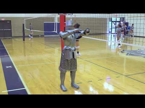Crusader & Groundhog - Volleyball Practice