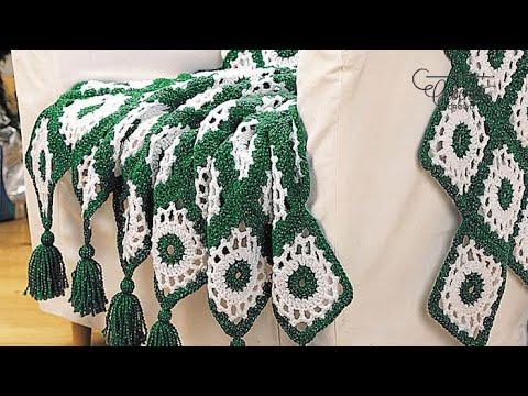 Crochet Happy Holidays Afghan Youtube