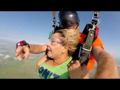 Tandem Skydive- Elizabeth Andrade From Houston.
