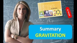 Summary GRAVITATION Physics Hindi