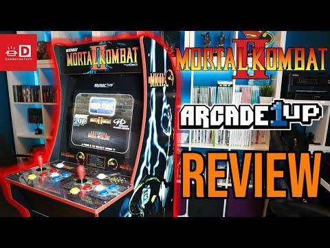 Arcade1Up MORTAL KOMBAT HOME ARCADE MACHINE - BUILD & REVIEW from DadBuysStuff