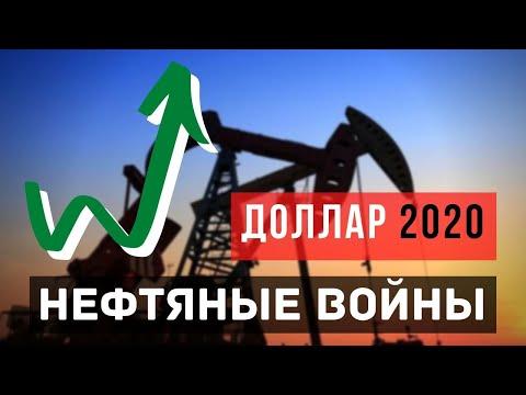 Прогноз по доллару после обвала нефти. Март 2020