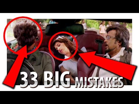 33 BIG MISTAKES | ROBOT | ENTHIRAN 2.0 | RAJNIKANT | Full Hindi Movie | ROBOT 2 COMING SOON