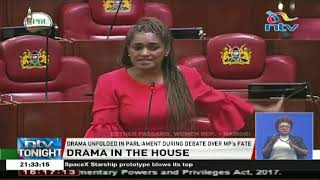 Drama as Didmus Barasa threatens to punch Esther Passaris in Parliament