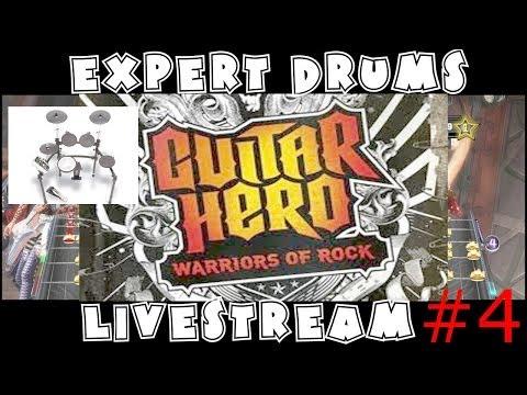 Guitar Hero WOR X Drums With Split-Screen Camera Livestream #4 19/October/2013
