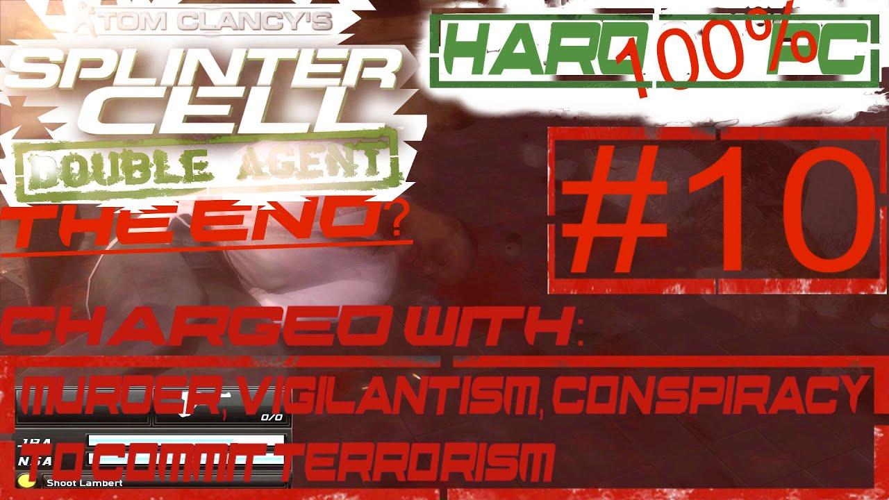 Splinter Cell Double Agent Hard 100 Pc