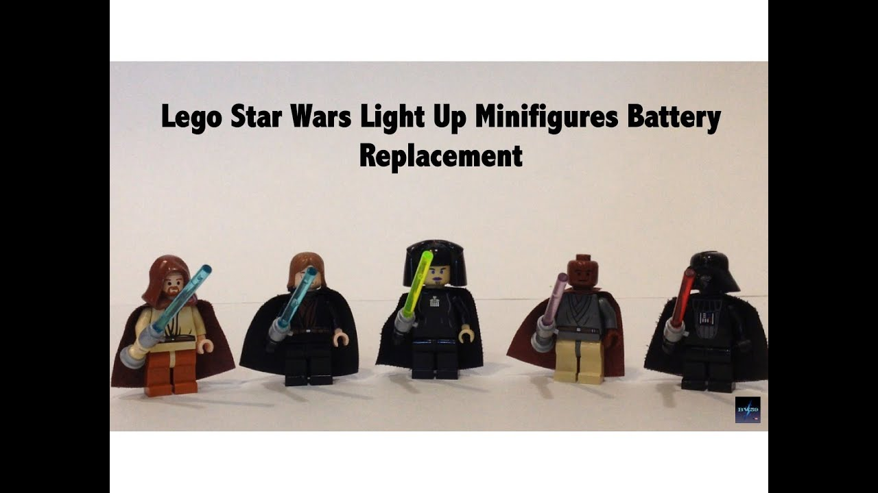 Replacing Batteries in Lego Star Wars Light Up Lightsaber ...