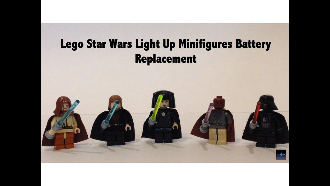 Replacing Batteries in Lego Star Wars Light Up Lightsaber