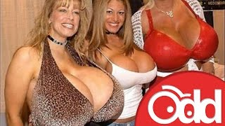10 Biggest BOOBS in the World!