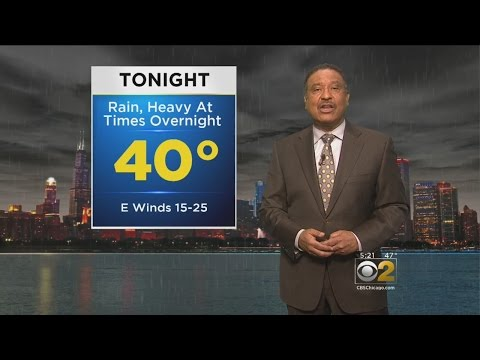 CBS 2 Weather Watch at 5:00PM