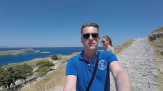 видео Отдых в Греции с детьми, остров Родос Греция, горящие путевки в Грецию