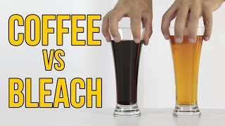 what happen if you mix coke and coffee science experiment