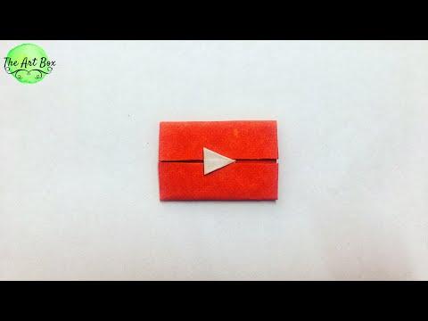 YouTube logo - DIY Paper Logo