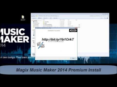 Magix Music Maker 2014 Premium free download and install
