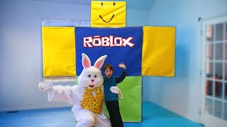 Giant Roblox Surprise with the Easter Bunny! Surprise Toys for Kids