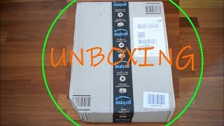 Unboxing Pacco Amazon