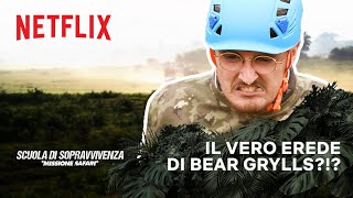 @FavijTV @Sbriser @Surry e Anima vs. Bear Grylls | Missione Safari | Netflix Futures