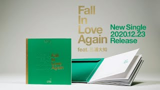 New SIngle「Fall in Love Again feat. 三浦大知」NOW ON SALE!