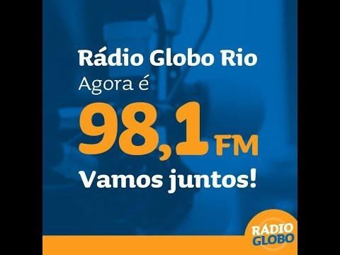 Confira Rádio Globo RJ em nova frequência! 98,1 FM