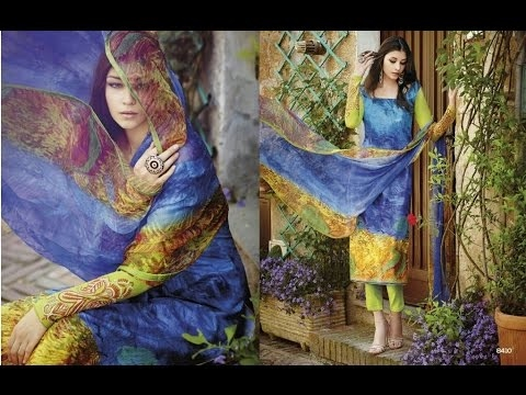 Lawn Salwar Suits Digital printed Desginer Collection [Mr Laikoff]