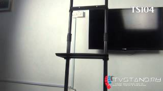 Full Review | Light Weight & Portable TV Stand Black TS104