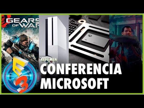 PROJECT SCORPIO, XBOX ONE S, GEARS OF WAR 4 | CONFERENCIA MICROSOFT #E32016