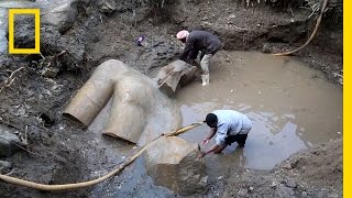 Updated  Giant Egyptian Statue Likely Not Ramses II | National Geographic