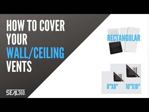 seal360-magnetic-vent-cover-wall/ceiling-install-demo