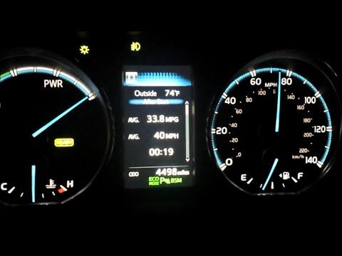 Rav4 Hybrid 60 mph to 80 mph - Ride along with me - Long video